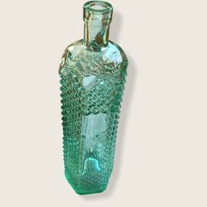 Antique Glass Bottle/ Vase 12 inches tall